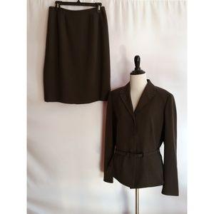 KASPER Size 10 Skirt Suit